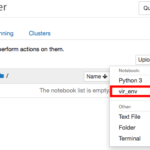 Condaの仮想環境をJupyter Notebookから利用する