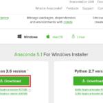 AnacondaでのPython仮想環境の構築